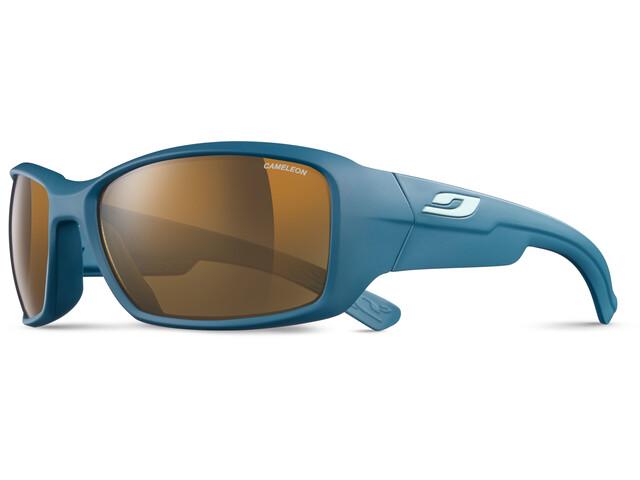 Julbo Whoops Cameleon Sunglasses Blue/Sky Blue-Brown